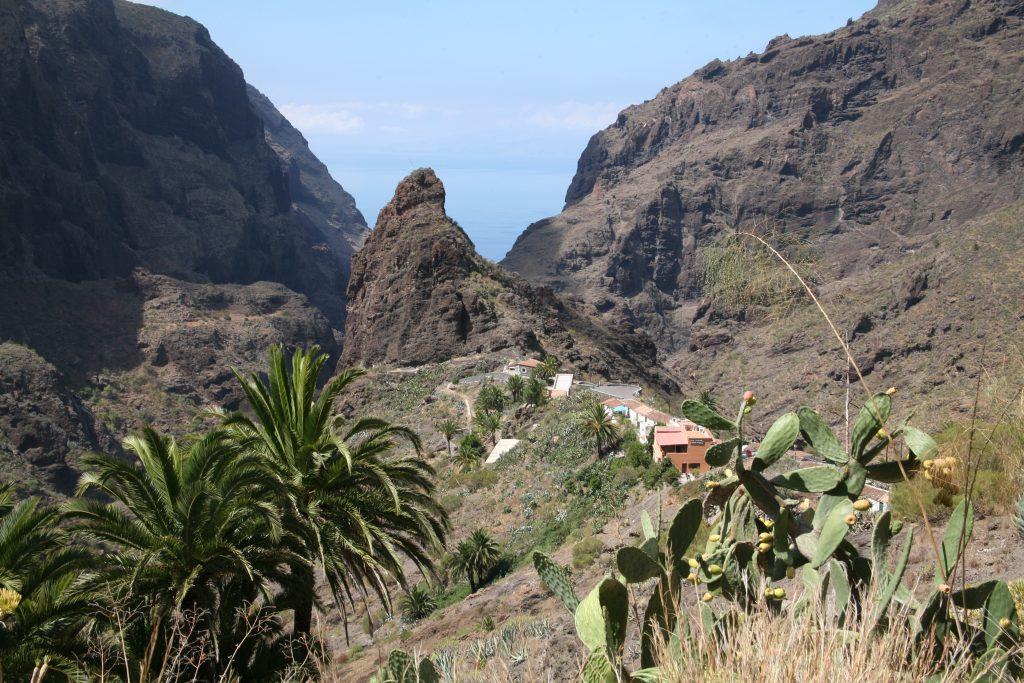 Vistas montañas Tenerife