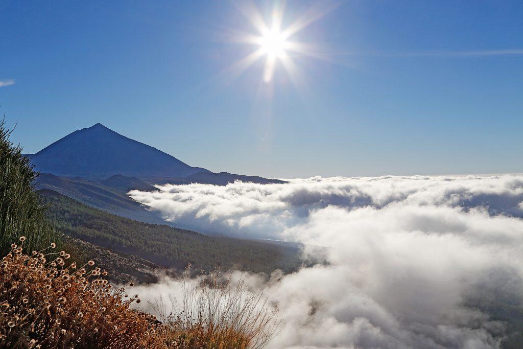 Teide nubes