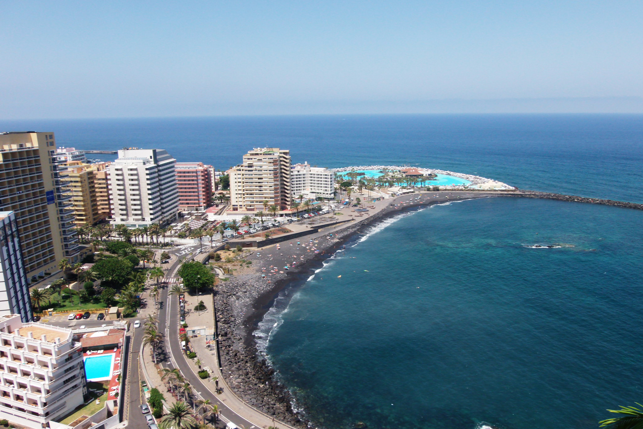 vistas playa Tenerife